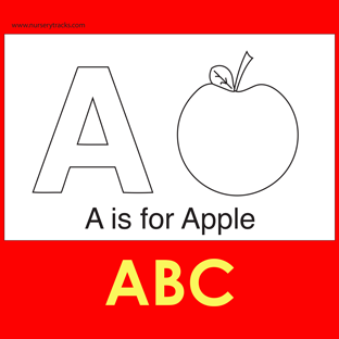 free abc alphabet colouring pages