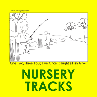 free nurserytracks originals colouring pages